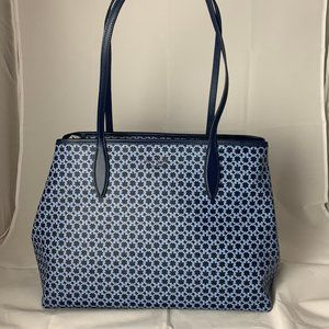NWT Kate Spade Spade Link Blue Tote!